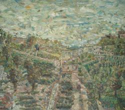 248-Wadi alnosor in the evening. 2010. Oil on canvas, 95.5x128 cm.
