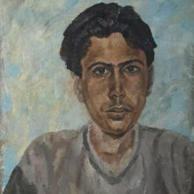 37-Portrait. 2001. Oil on canvas, 64.7 x 49 cm.